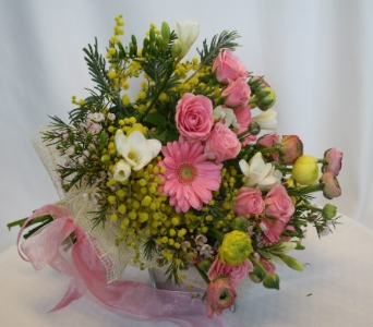 MIMOSA CUT BOUQUET in Victoria BC, Fine Floral Designs