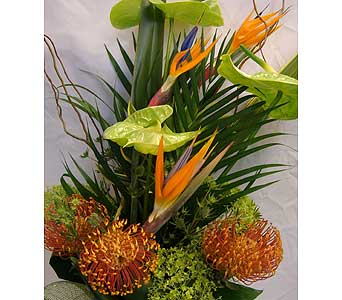 PROTEA FANTASY CUT BOUQUET in Victoria BC, Fine Floral Designs