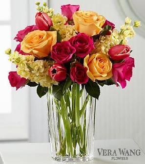 The FTD Beauty & Grace Bouquet by Vera Wang in Lawrence KS, Englewood Florist