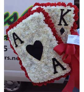 Ace Funeral Spray in Philadelphia PA, Petal Pusher Florist & Decorators