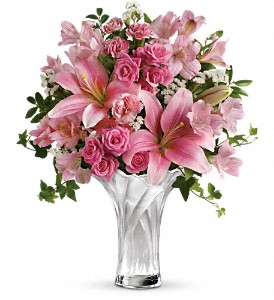 Teleflora's Celebrate Mom Bouquet in Medford MA, Capelo's Floral Design
