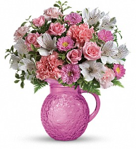 Teleflora's Pour On Pink Bouquet in Johnson City TN, Roddy's Flowers