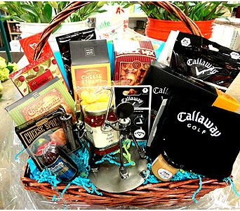 Golf & Gourmet Basket in Tampa FL, Buds, Blooms & Beyond