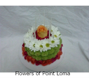 Diet Cake in San Diego CA, Flowers Of Point Loma