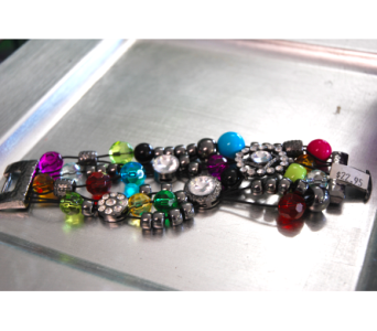 Multicolored Jewel Bracelet in Manhattan KS, Westloop Floral