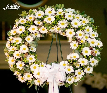 The Long Island Sympathy Wreath in Merrick NY, Feldis Florists