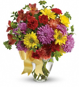 Color Me Yours Bouquet in Weymouth MA, Bra Wey Florist