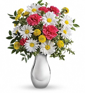 Just Tickled Bouquet by Teleflora in McHenry IL, Locker's Flowers, Greenhouse & Gifts
