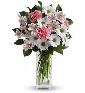 Sincerely Yours Bouquet by Teleflora in Hendersonville NC, Forget-Me-Not Florist