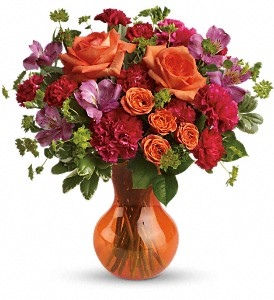 Teleflora's Fancy Free Bouquet in Menomonee Falls WI, Bank of Flowers