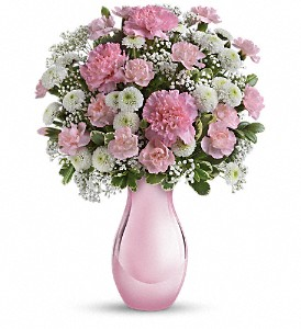 Teleflora's Radiant Reflections Bouquet in Jamesburg NJ, Sweet William & Thyme