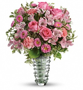 Teleflora's Rose Fantasy Bouquet in Oklahoma City OK, Array of Flowers & Gifts