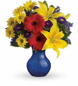 Teleflora's Summer Daydream Bouquet in Mount Morris MI, June's Floral Company & Fruit Bouquets