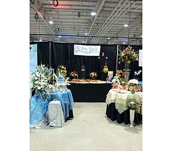 Wedding Show 2012 - Booth in Wake Forest NC, Wake Forest Florist