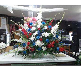 Church Arrgmt - July 4th in Wake Forest NC, Wake Forest Florist