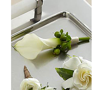 Calla Lily Boutonnieres in Stamford CT, Stamford Florist