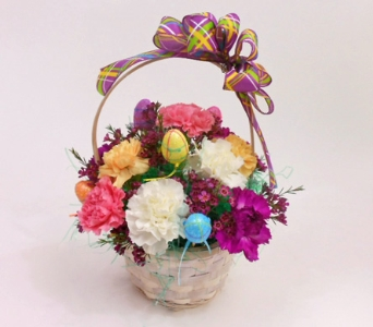 Egg Hunt Basket in Royersford PA, Three Peas In A Pod Florist
