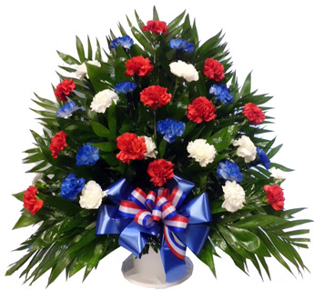 The Patriot Tribute Arrangement in Scranton PA, Remick Floral & Gift