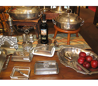 Butter Dishes, Covered Pewter Bowls, Platters, Etc in Blue Bell PA, Country Flower Shoppe