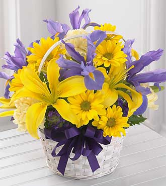 SPIRIT OF SPRING BASKET in Vienna VA, Vienna Florist & Gifts