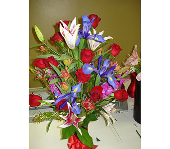 Arrangement in Montgomery NY, Secret Garden Florist