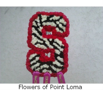 THE S. in San Diego CA, Flowers Of Point Loma