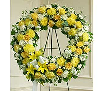 Wreath in Whittier CA, Ginza Florist