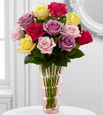 FTD The Mixed Rose Bouquet in Hollister CA, Barone's Westlakes Balloons and Gifts