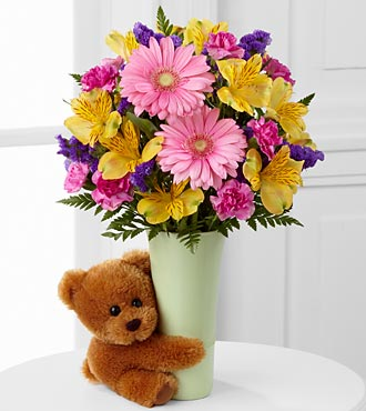 FTD The Festive Big Hug Bouquet in Hollister CA, Barone's Westlakes Balloons and Gifts