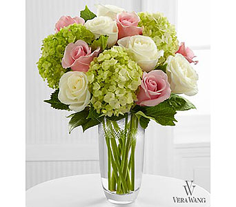 The FTD� Embracing Grace� Bouquet by Vera Wang in Ft. Lauderdale FL, Jim Threlkel Florist