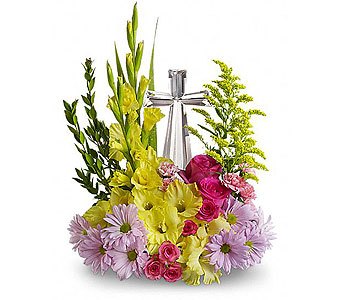 Teleflora's Crystal Cross Bouquet - Deluxe in Whittier CA, Ginza Florist