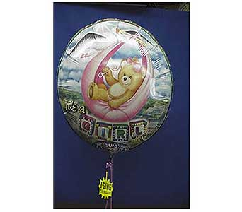 Baby Boy or Girl 8in Singing Balloon in San Antonio TX, Allen's Flowers & Gifts