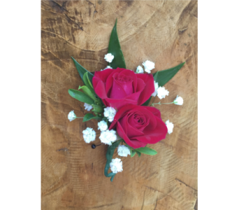 Red Spray Rose Boutonniere in Wellington FL, Wellington Florist