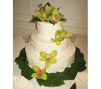 Wedding Cake Flowers in King Of Prussia PA, Petals Florist