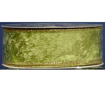 Green Velvet with Gold Trim in San Antonio TX, Best Wholesale Christmas Co