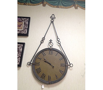 Wall Clock in New Castle PA, Butz Flowers & Gifts