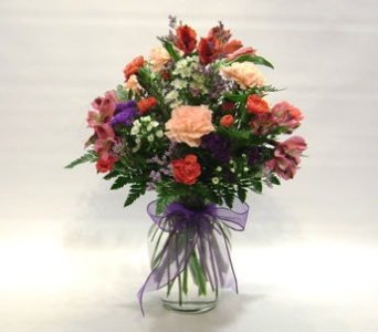 Pink & Purple Inspiration in Herndon VA, Herndon Florist, Inc