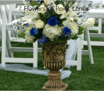 Urn in San Diego CA, Flowers Of Point Loma