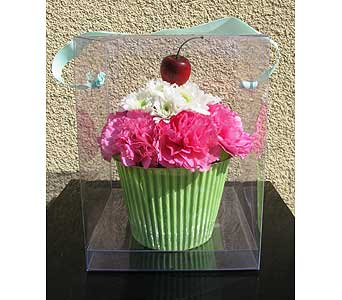 Cupcake Celebration in San Diego CA, The Floral Gallery