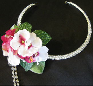 Rhinestone Necklace in Farmington CT, Haworth's Flowers & Gifts, LLC.