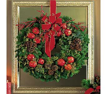 Pomegranate Wreath in San Antonio TX, Allen's Flowers & Gifts