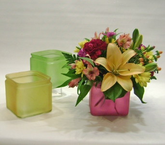 Colorsplash Cube in Herndon VA, Herndon Florist, Inc