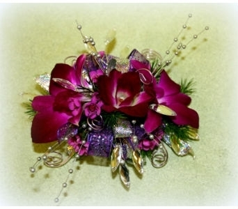 Orchid and Bling-58 in Asheville NC, Kaylynne's Briar Patch Florist, LLC