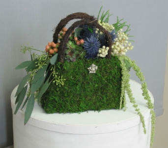 Handbag of Blooms in Traverse City MI, Teboe Florist