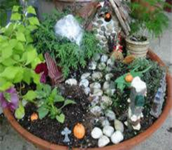 fairy gardens in Bismarck ND, Dutch Mill Florist, Inc.