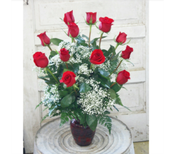 Dozen Red Roses in Greensboro NC, Sedgefield Florist & Gifts, Inc.