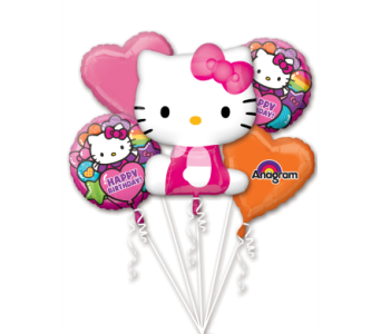 Hello Kitty Balloon Bouquet in Stamford CT, Stamford Florist