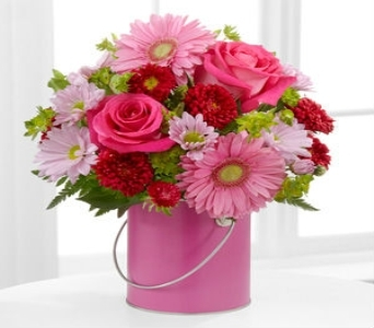The FTD� Color Your Day With Happiness� Bouquet PC in Wichita KS, Lilie's Flower Shop