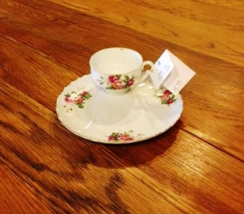 Antique Dessert Plate in Canton TX, Billie Rose Floral & Gifts