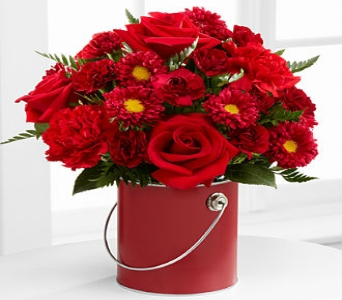 The Color Your Day With Love� Bouquet by FTD� - VA in Wichita KS, Lilie's Flower Shop